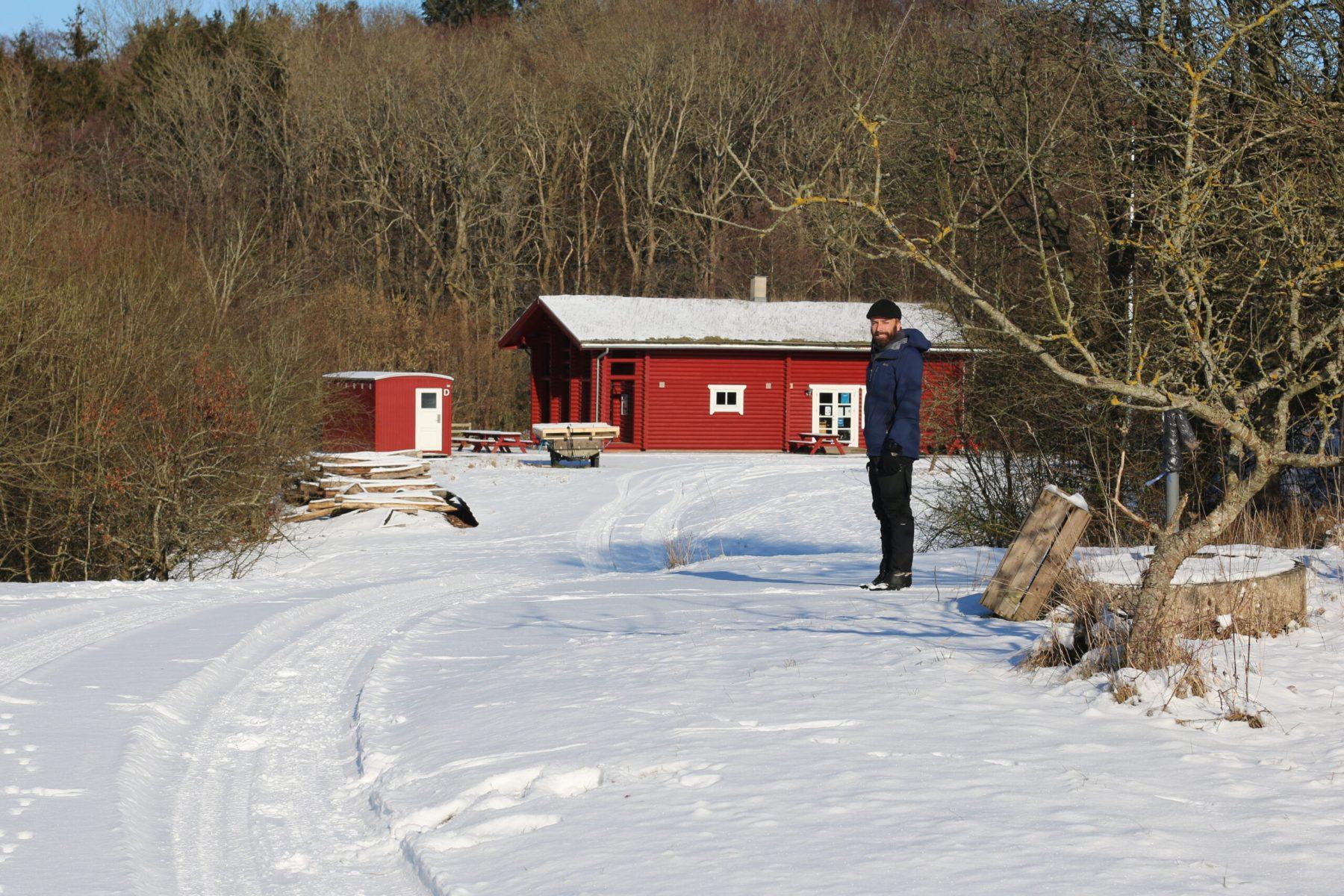 Vinter i den gamle æbleplantage – © Fotograf Tanja L. Bundgaard, 2021